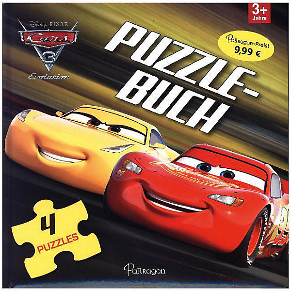 Disney Cars 3: Puzzlebuch