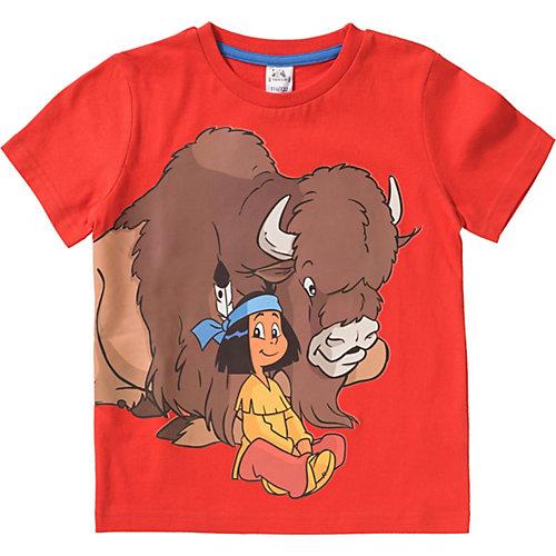 Yakari T-Shirt Gr. 116/122 Jungen Kinder | 04049118474453