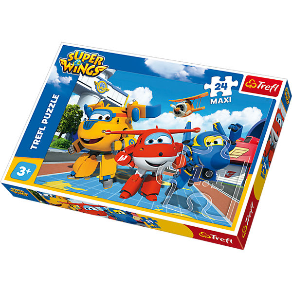 Maxi Puzzle 24 Teile - Super Wings, Super Wings