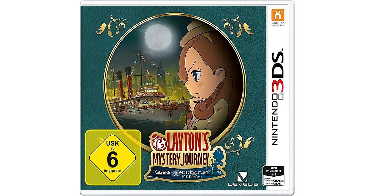 3DS Layton`s Mystery Journey: Katrielle und die...