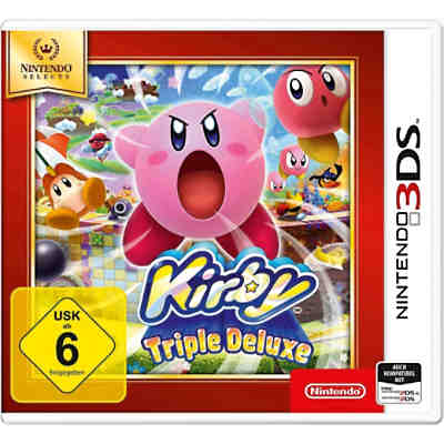 3DS Kirby Triple Deluxe Selects