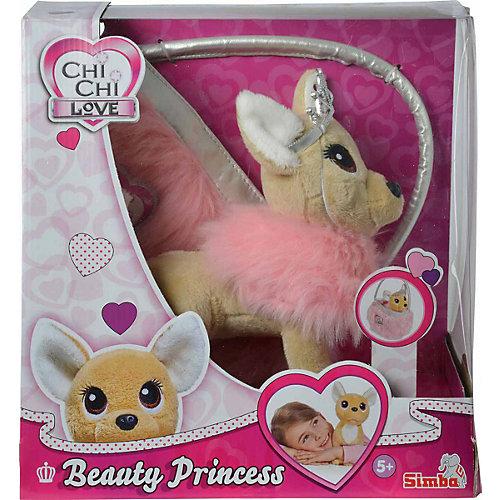 """Мягкая игрушка Simba Chi Chi Love """"Собачка-принцесса с пушистой сумкой"""", 20 см от Simba"""