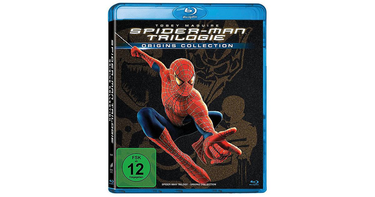 BLU-RAY Spider-Man 1-3 Hörbuch