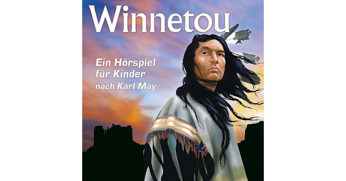 CD Winnetou - Ein Hörspiel Kinder nach Karl May...