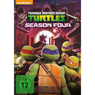 DVD Teenage Mutant Ninja Turtles - Staffel 4