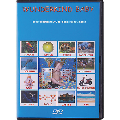 """Развивающий DVD-диск Вундеркинд с пелёнок """"Английский язык"""""""
