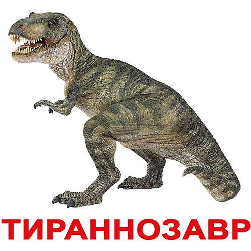 """Набор обучающих карточек Вундеркинд с пелёнок """"Динозавры"""" 20 штук от Вундеркинд с пелёнок"""