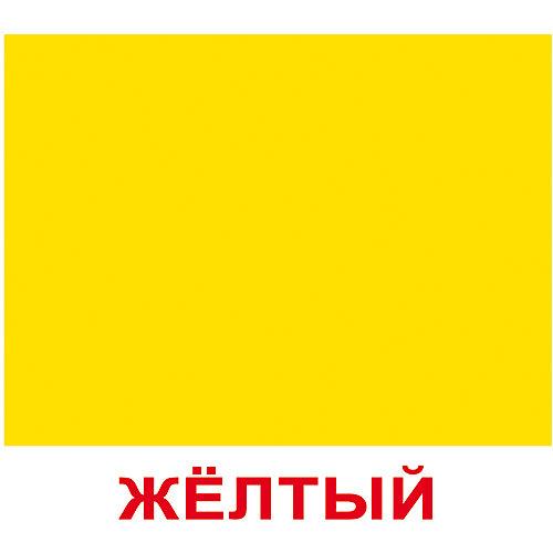 """Набор обучающих мини-карточек Вундеркинд с пелёнок """"Цвет"""" 20 штук от Вундеркинд с пелёнок"""