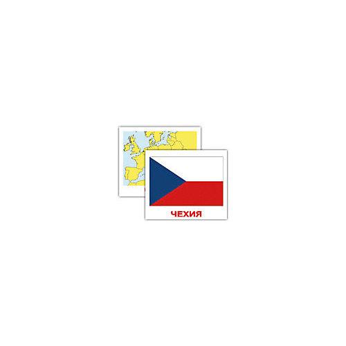 """Набор обучающих мини-карточек Вундеркинд с пелёнок """"Страны. Флаги. Столицы"""" 40 штук от Вундеркинд с пелёнок"""