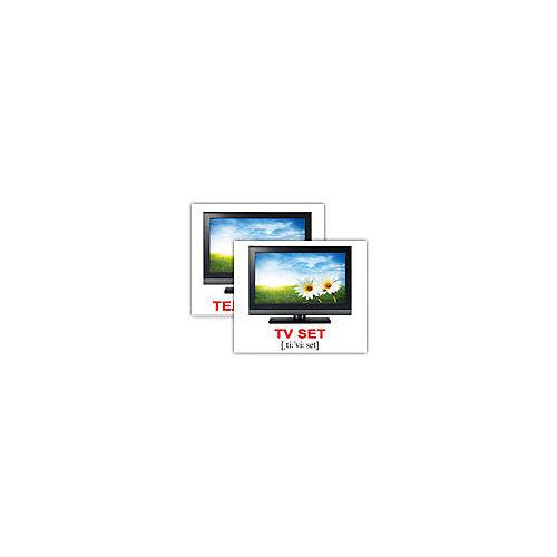 """Набор обучающих мини-карточек Вундеркинд с пелёнок """"Electronics/Бытовая техника"""", двухсторонний 40 штук от Вундеркинд с пелёнок"""