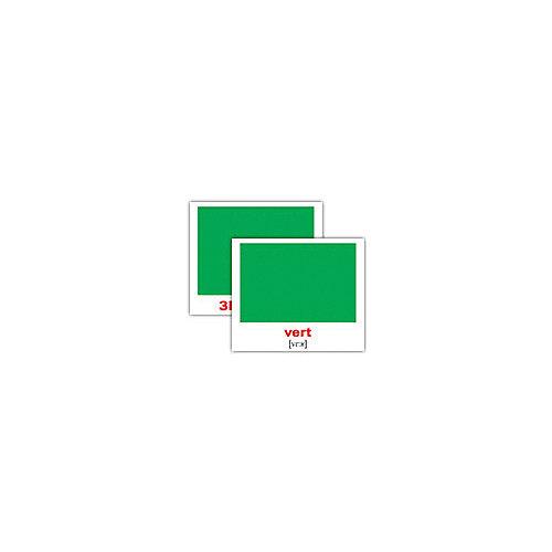 """Набор обучающих мини-карточек Вундеркинд с пелёнок """"Les couleurs/Цвета"""", двухсторонний 20 штук от Вундеркинд с пелёнок"""