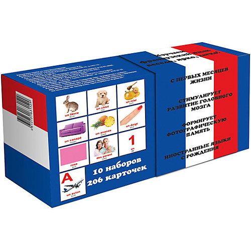 """Подарочный набор карточек """"Французско-русский"""", Вундеркинд с пелёнок от Вундеркинд с пелёнок"""