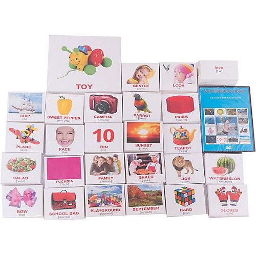 """Подарочный набор обучающих карточек Вундеркинд с пелёнок """"Английский"""" от Вундеркинд с пелёнок"""