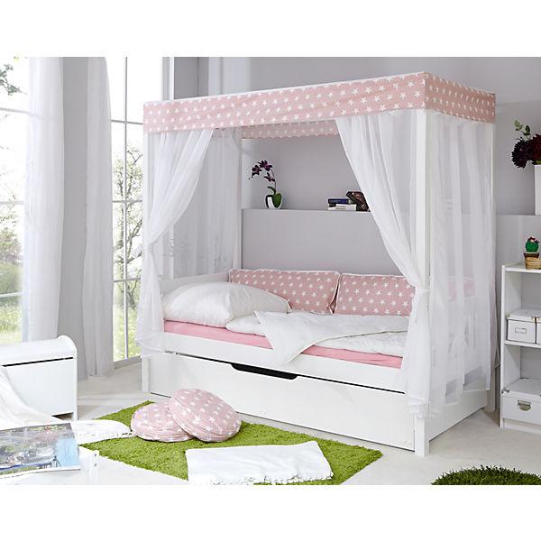 Himmelbett  Himmelbett Stern mit Zusatzbett, rosa, 90 x 200 cm, TICAA | myToys