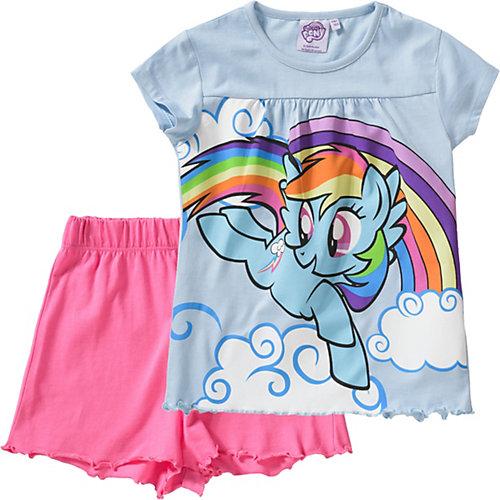 My little Pony Schlafanzug Gr. 92/98 Mädchen Kleinkinder | 04250979812005