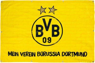BVB Wanduhr BVB, Fußballverein Borussia Dortmund