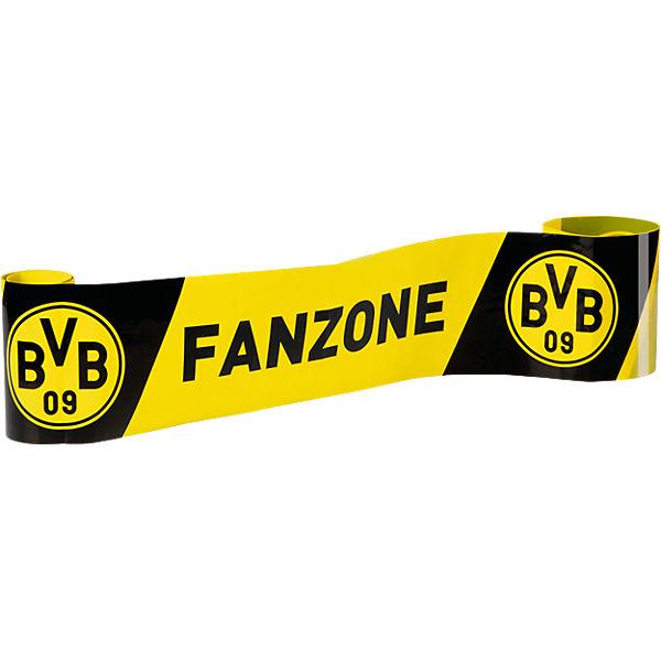 absperrband bvb fanzone schwarz gelb 5 m x 10 cm fu ballverein borussia dortmund mytoys. Black Bedroom Furniture Sets. Home Design Ideas