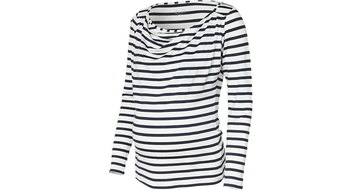 Stilllangarmshirt Prisca blau/weiß Gr. 36 Damen Kinder