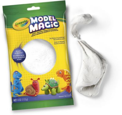 Застывающий пластилин Crayola Model Magic, белый 113 гр