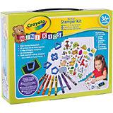 """Набор для творчества Crayola Mini Kids """"Мой первый набор печатей"""""""