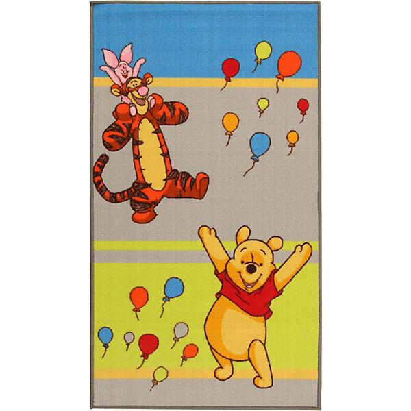 Kinderteppich Winnie Puuh und Freunde, Ballons, 80 x 140 cm, Disney Winnie  Puuh