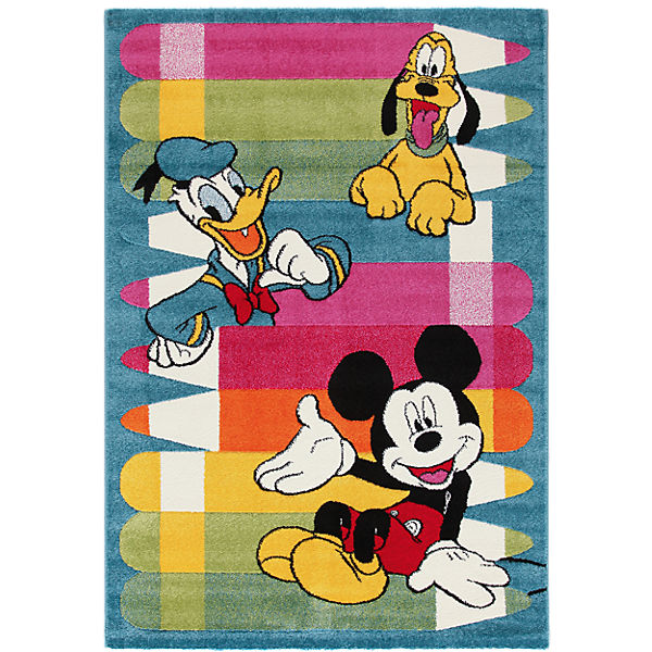 Kinderteppich Mickey Mouse und Freunde, 100 x 150 cm, Disney Mickey ...