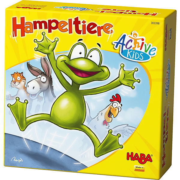 Hampeltiere - Active Kids