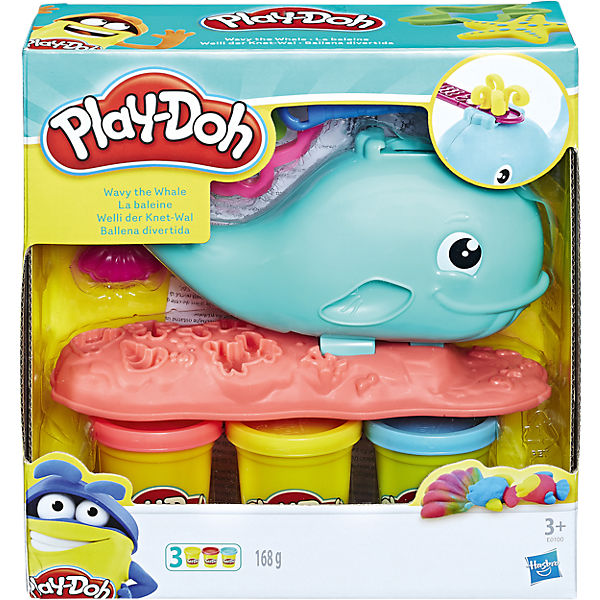 Play-Doh Welli der Knet-Wal, Play-Doh