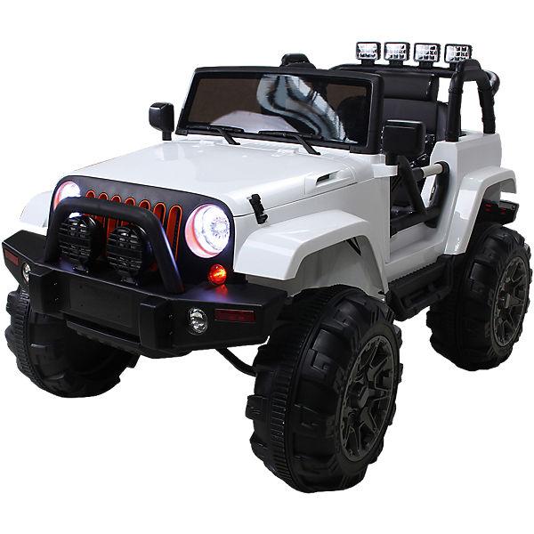 kinder elektroauto offroad jeep adventure wei mytoys. Black Bedroom Furniture Sets. Home Design Ideas