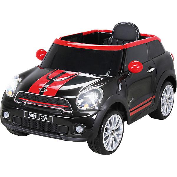 kinder elektroauto mini cooper paceman schwarz mytoys. Black Bedroom Furniture Sets. Home Design Ideas