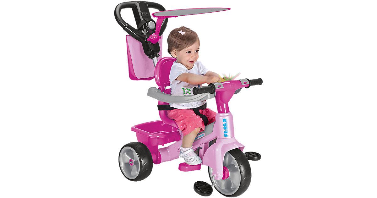 Dreirad Baby Plus Musik rosa-pink