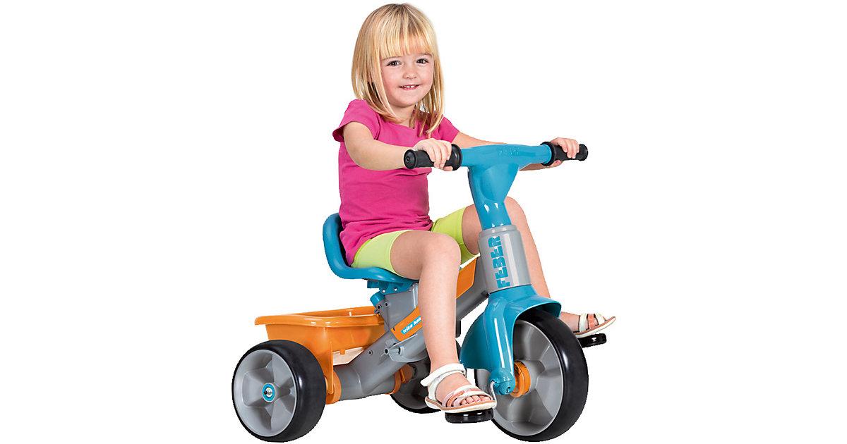 Dreirad Baby Plus Musik blau-orange