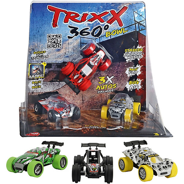 TRXX05 Trixx 360 - Straight Bowl Ramp