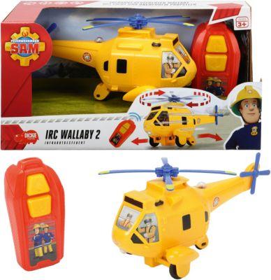 Hubschrauber Wallaby II mit Figur günstig kaufen Simba 109251002 Feuerwehrmann Sam Film- & TV-Spielzeug