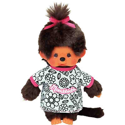 monchhichi mit t shirt zum ausmalen inkl stifte mytoys. Black Bedroom Furniture Sets. Home Design Ideas