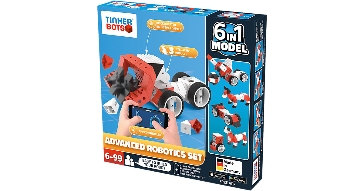 Tinkerbots Advanced Robotic Set