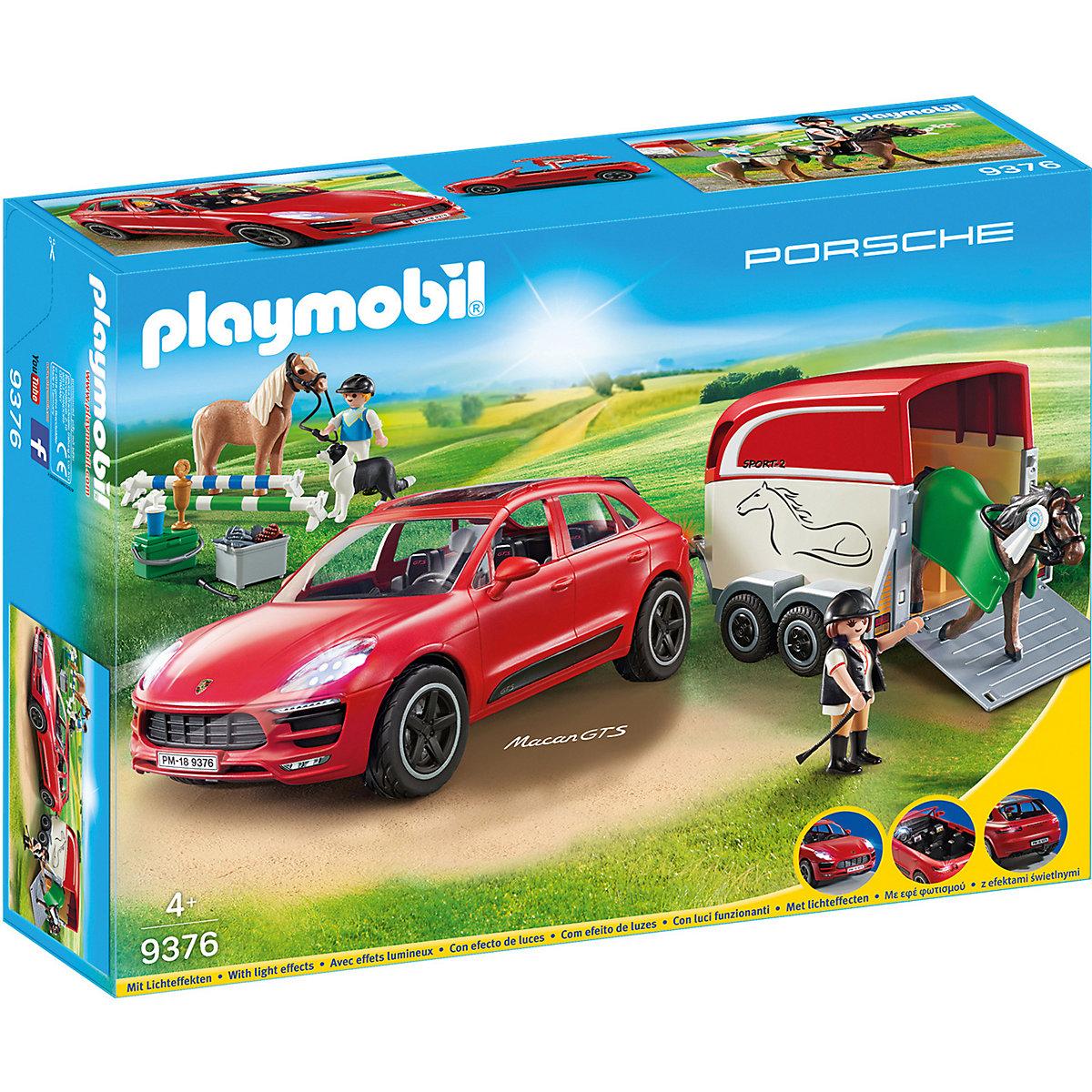 playmobil 9376 porsche macan gts playmobil city life. Black Bedroom Furniture Sets. Home Design Ideas