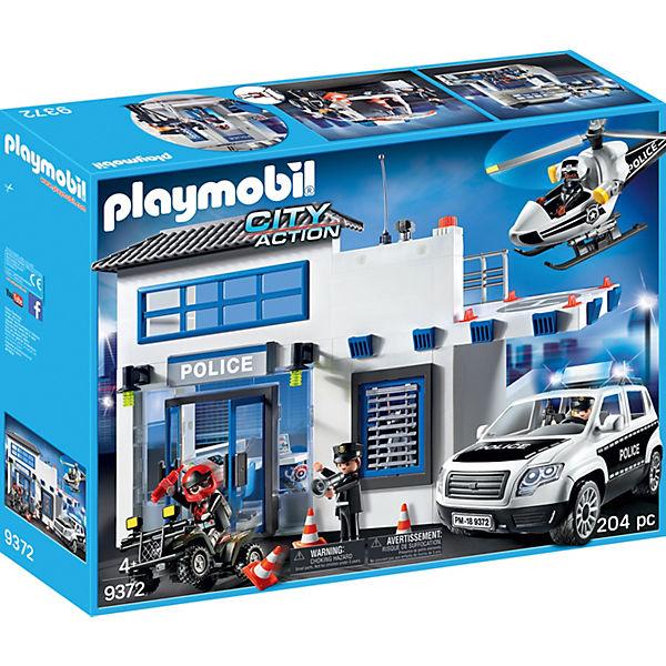 PLAYMOBIL® 9372 Polizeistation, PLAYMOBIL City Action
