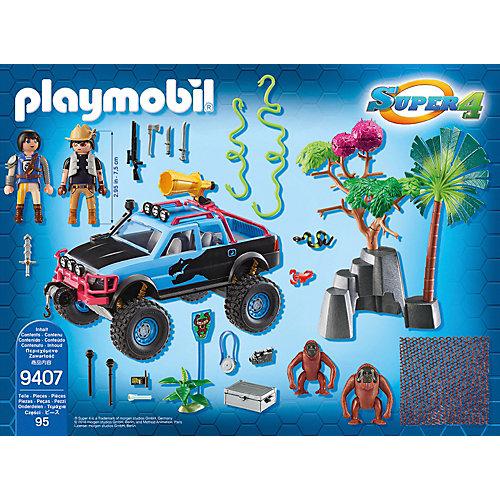 Конструктор Playmobil Монстр-грузовик с Алекс и Рок Брок, 24 детали от PLAYMOBIL®