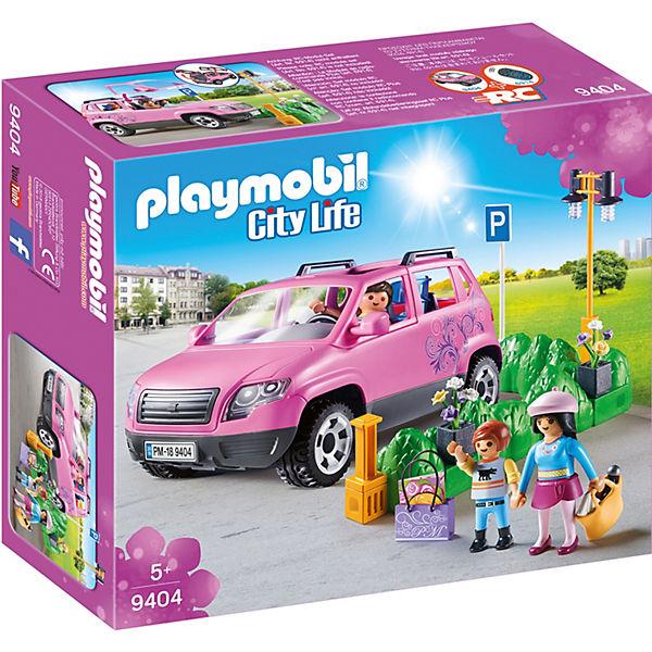 Playmobil 9404 Familien Pkw Mit Parkbucht Playmobil City Life Mytoys