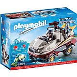"""Игровой набор Playmobil """"Полиция: грузовик-амфибия"""""""