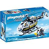 """Игровой набор Playmobil """"Полиция: тактическое подразделение"""", вертолет"""