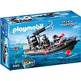 Конструктор Playmobil Полиция: Тактическое подразделение: лодка