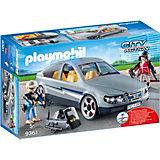 """Игровой набор Playmobil """"Полиция: тактическое подразделение"""", машина под прикрытием"""