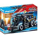 """Игровой набор Playmobil """"Полиция: тактическое подразделение"""", грузовик, свет/звук"""