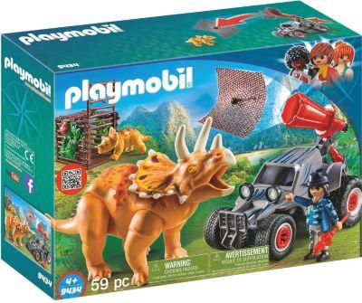 Playmobil Offroader mit Dino Fangnetz 9434  The Explorers NEU Dschungel Playmobil