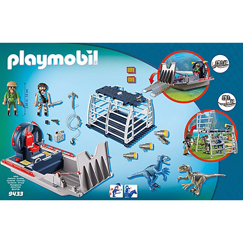 Конструктор Playmobil Вражеское воздушное судно с ящером, 11 деталей от PLAYMOBIL®