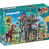 Конструктор Playmobil Затерянный храм с тиранозавром, 26 деталей