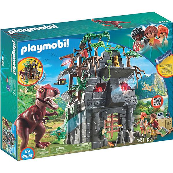Playmobil 9429 Basecamp Mit T Rex Playmobil Wild Life Mytoys