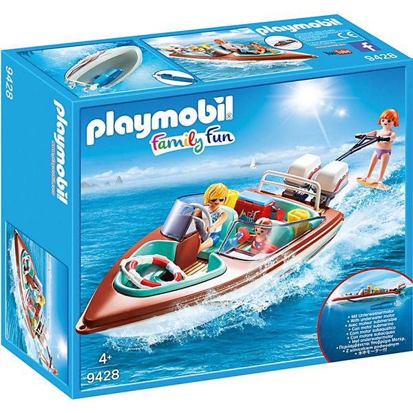 Playmobil 9428 Motorboot Mit Unterwassermotor Playmobil City Life